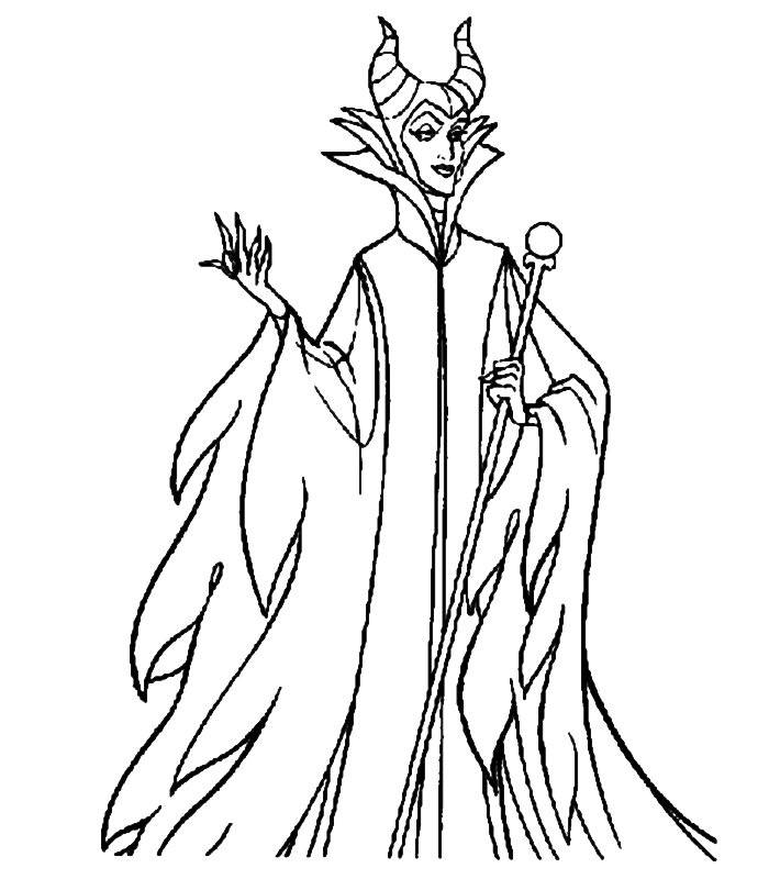 Coloring pages the sleeping beauty - picture 9