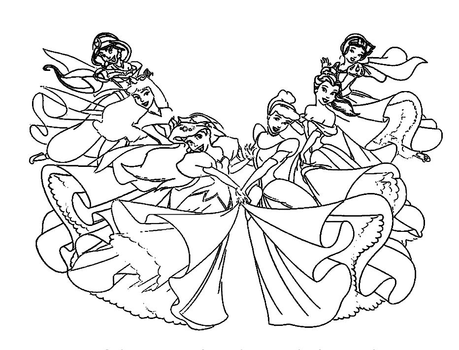coloring pages of disney world - photo#36