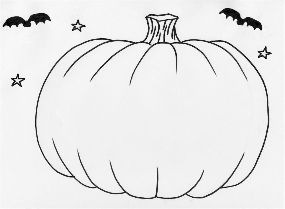 Pumpkin Pictures To Print - Coloring Home