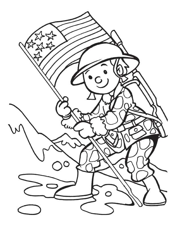 Veterans Day Printables For Kids
