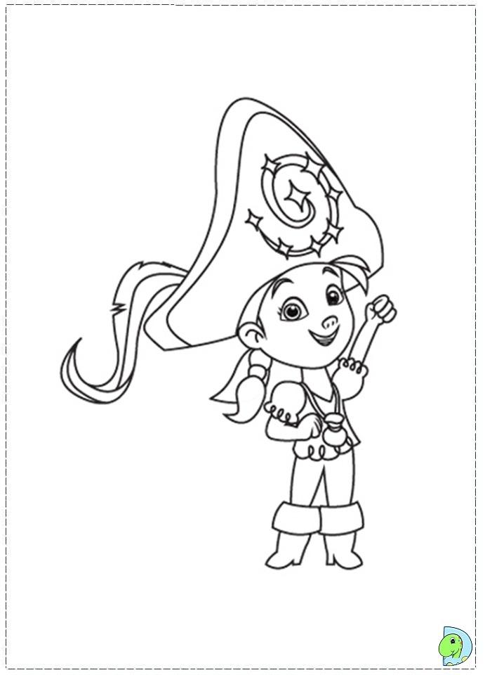 Jake And The Neverland Pirates Drawing Az Coloring Pages Jake And The Never Land Coloring Pages