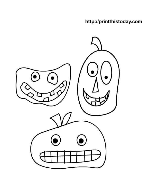 Halloween coloring pages for kids | Print This Today