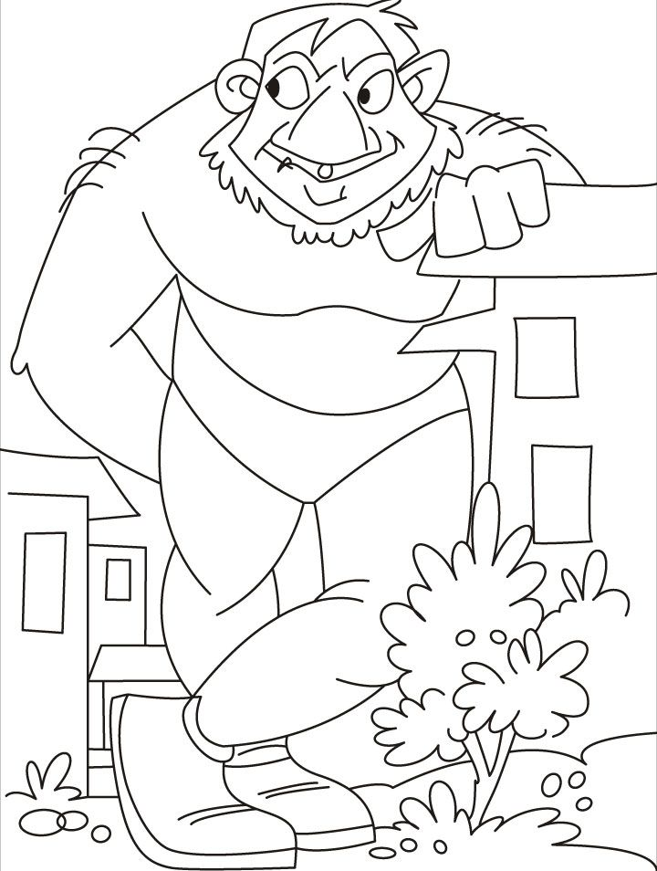 giant print coloring pages - photo#2