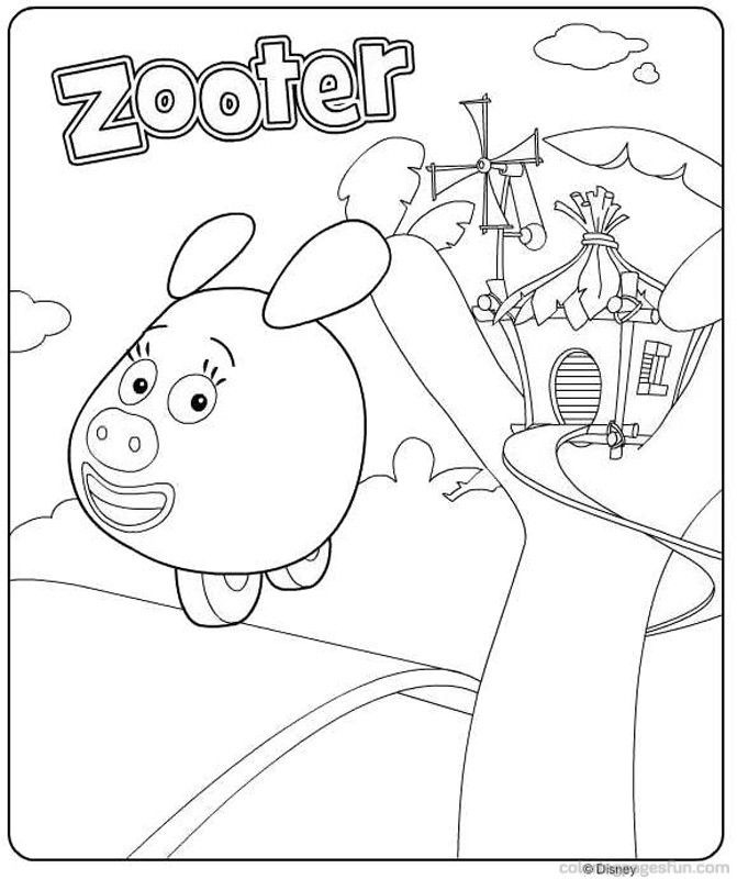 Jungle Junction Coloring Pages - Free Printable Coloring Pages