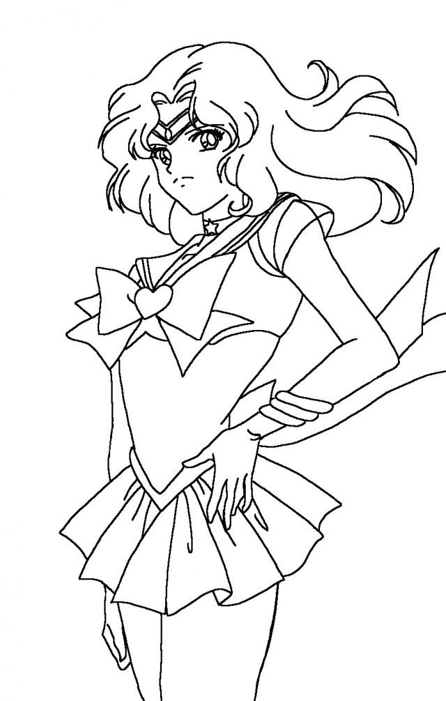 Uranus coloring pages az coloring pages for Sailor mars coloring pages