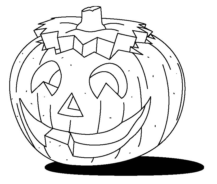 Blank Pumpkin Coloring Pages - AZ Coloring Pages