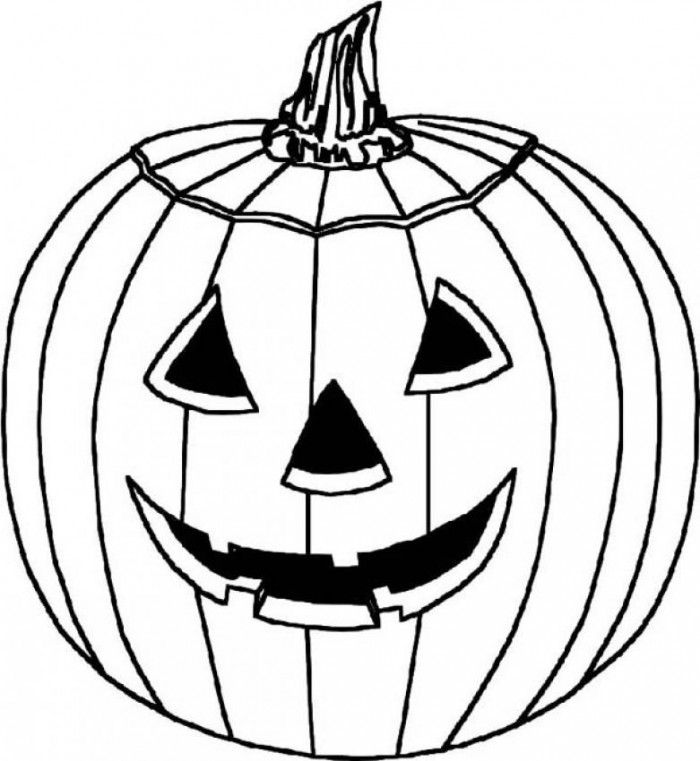 Jack O Lantern Coloring Page Printable Book Sheet