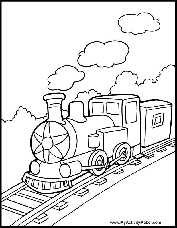 coloring sheet | Planes,Trains,Automobiles Coloring Pages