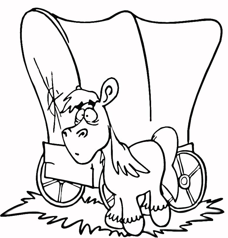 prioneer coloring pages - photo#19