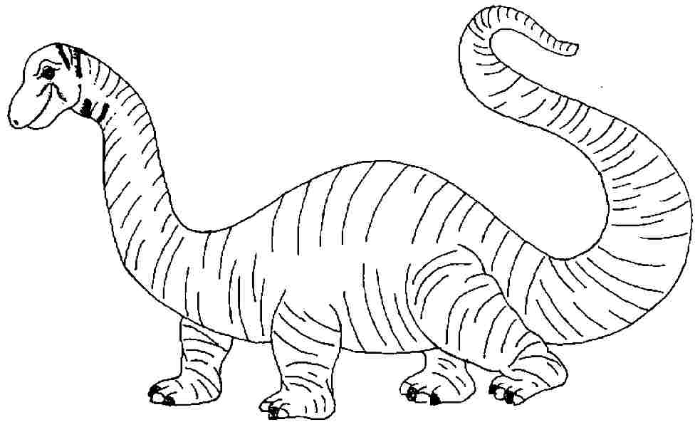 brontosaurus coloring pages - photo#33