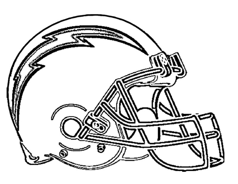 Kansas City Chiefs Helmet Coloring Pages
