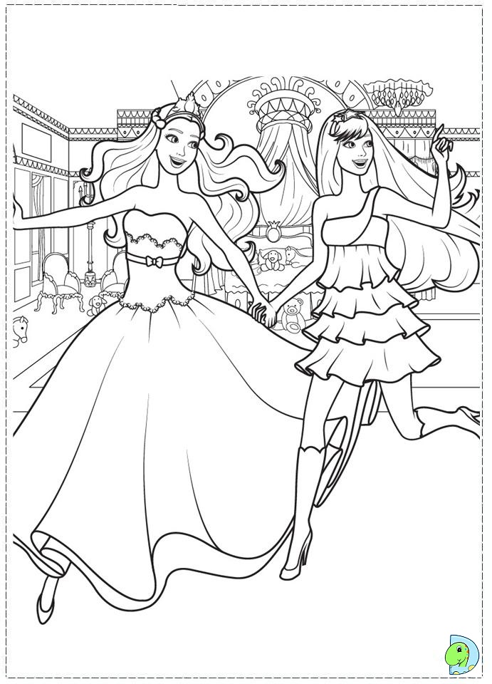 barbie princess printable coloring pages - barbie princess coloring pages az coloring pages
