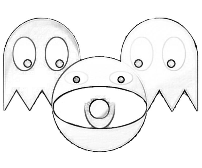 pacman printable coloring pages - photo#13