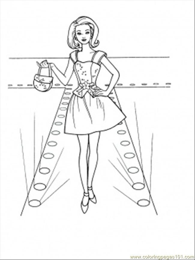 fashion designer coloring pages - photo#27