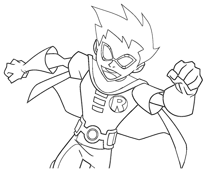 Jinx teen titans coloring pages coloring pages for Teen titans coloring pages