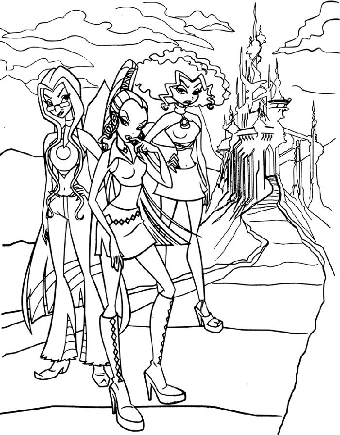 Winx Club Coloring Pages That Has Several Benefits | Printable ...