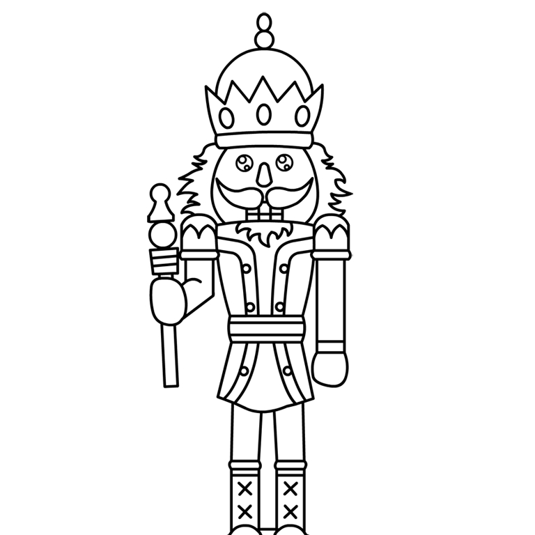 coloring pages of nutcrackers - photo#17