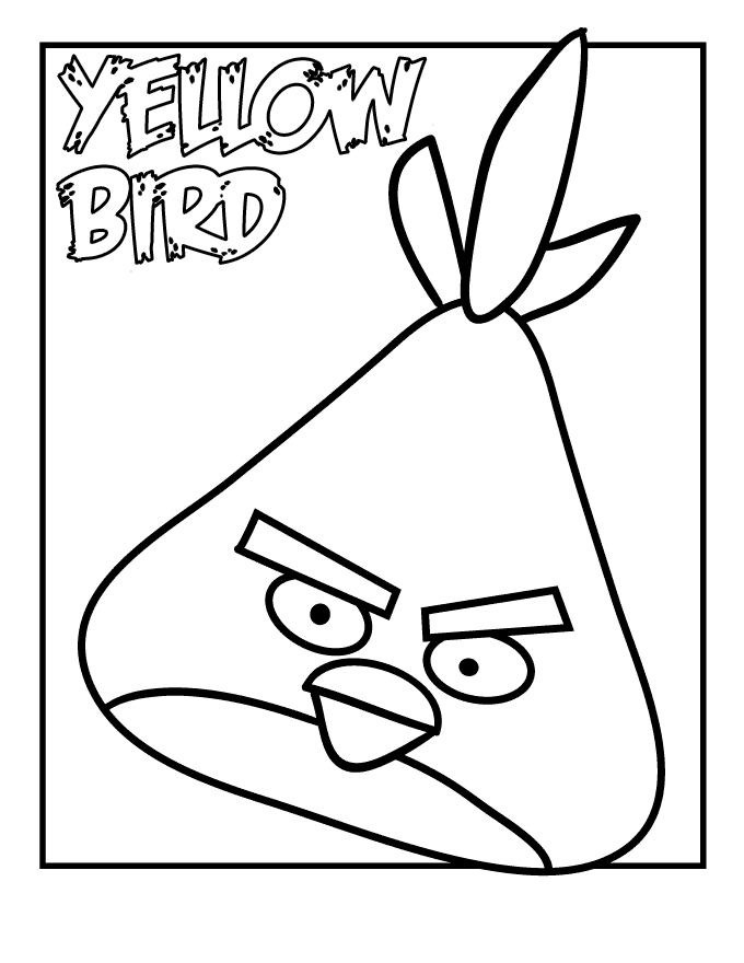 Angry Birds Coloring Pages Star Wars 2 #26 | Free coloring pages