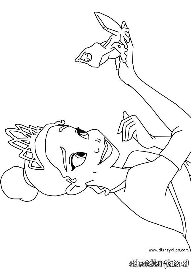Princessandthefrog91 - Printable coloring pages