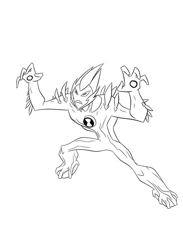 Ben 10 Ultimate Alien Coloring Pages - Coloring Home