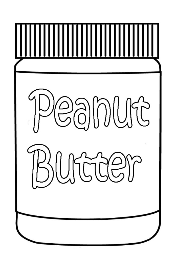butter free coloring pages - photo#14