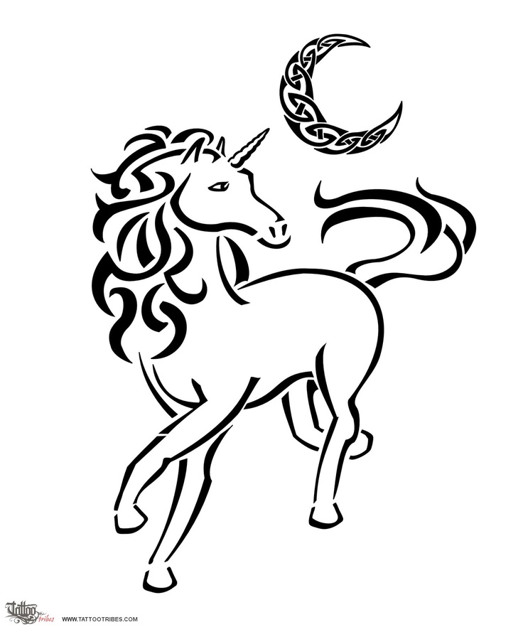 Unicorn Outline - AZ C...