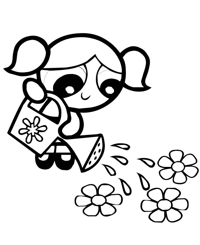 The Powerpuff Girls Coloring Pages Az Coloring Pages Power Puff Coloring Pages