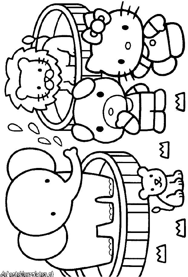 Hello Kitty Coloring Pages Printable | Free coloring pages