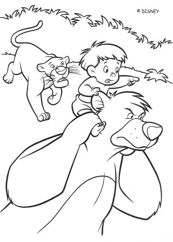 The jungle book 2 disney movie coloring books ranjan for Jungle book 2 coloring pages