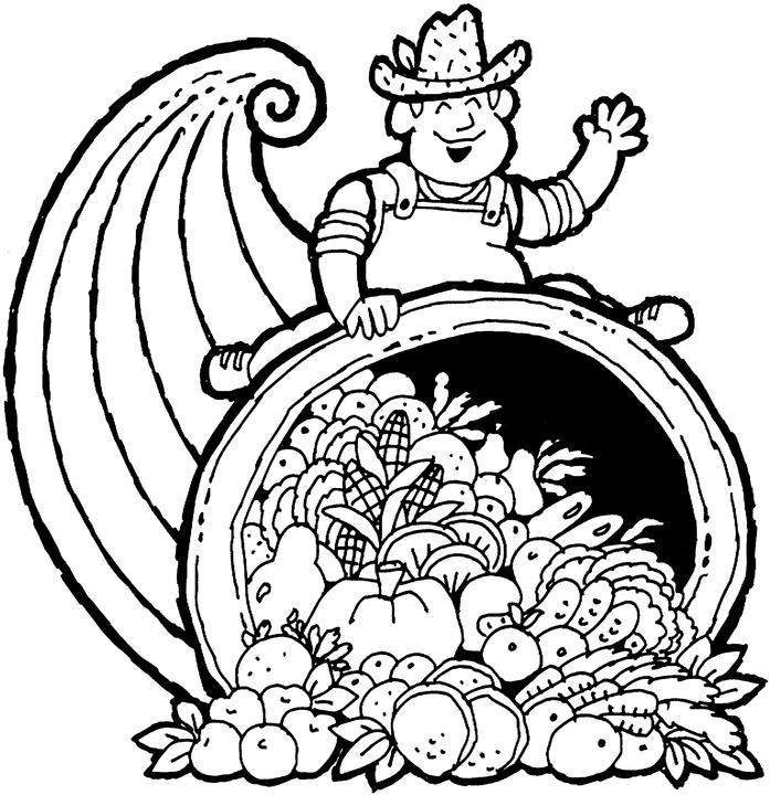 Happy Thanksgiving Coloring Sheets For Kids