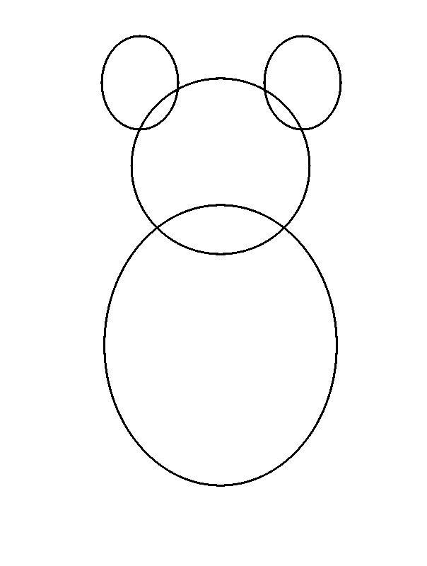 Teddy Outline | Search Results | Calendar 2015