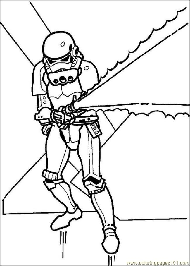 Coloring Pages Star Wars Coloring Pages 015 (Cartoons > Star Wars