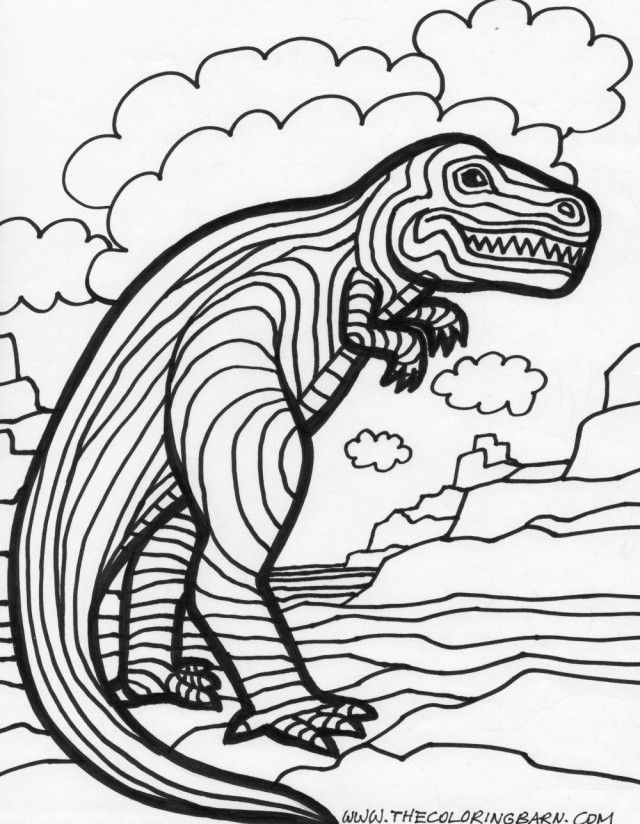 Printable Dinosaur Coloring Pages Free Dinosaur Coloring Pages