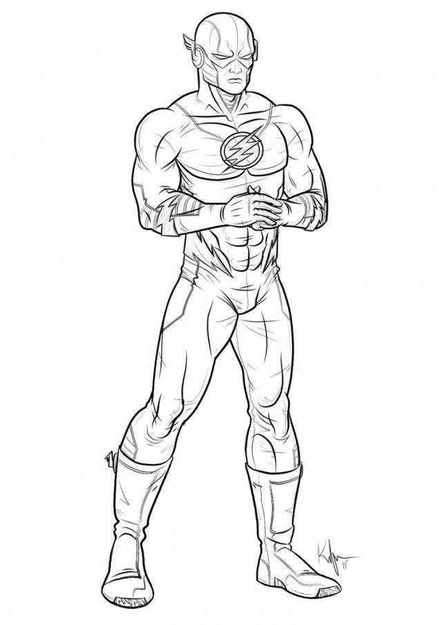 marvel superheroes coloring pages - photo#25