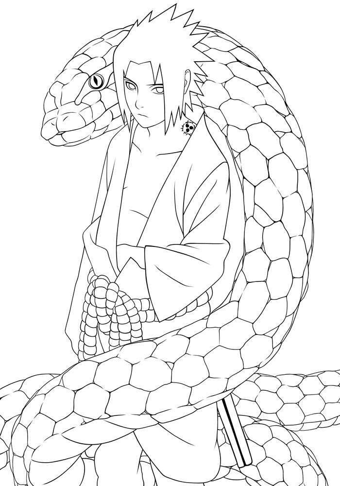 bleach coloring book pages - photo#23