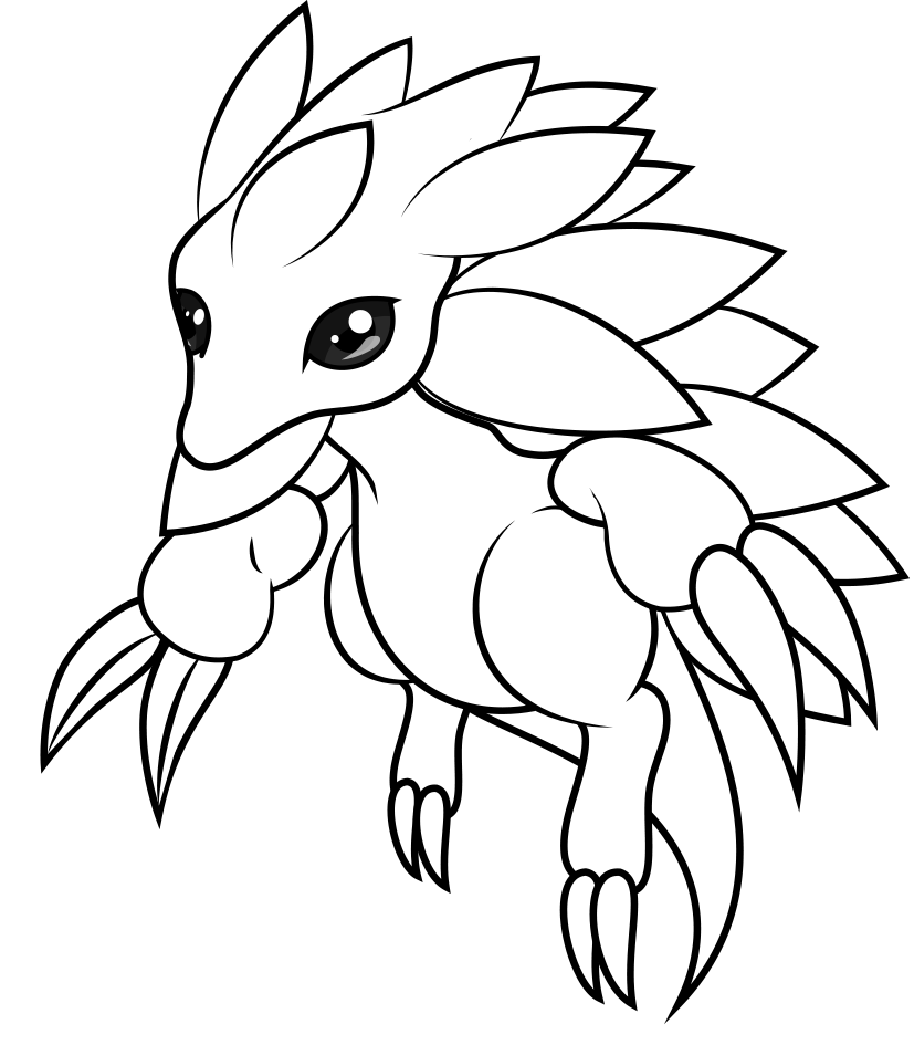 ground pokemon coloring pages - photo#15