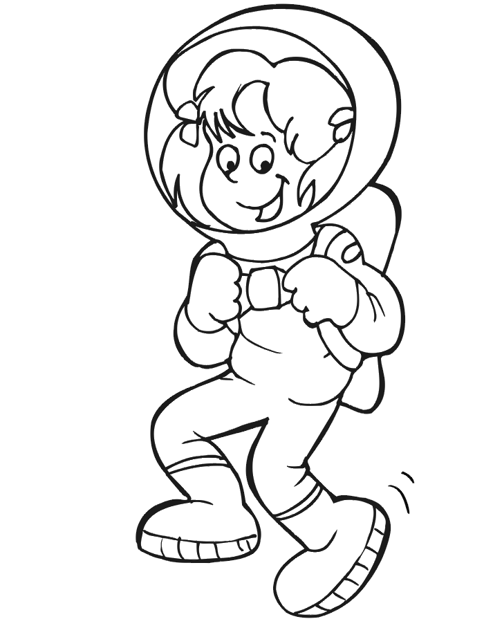 Space Alien Coloring Pages - Coloring Home