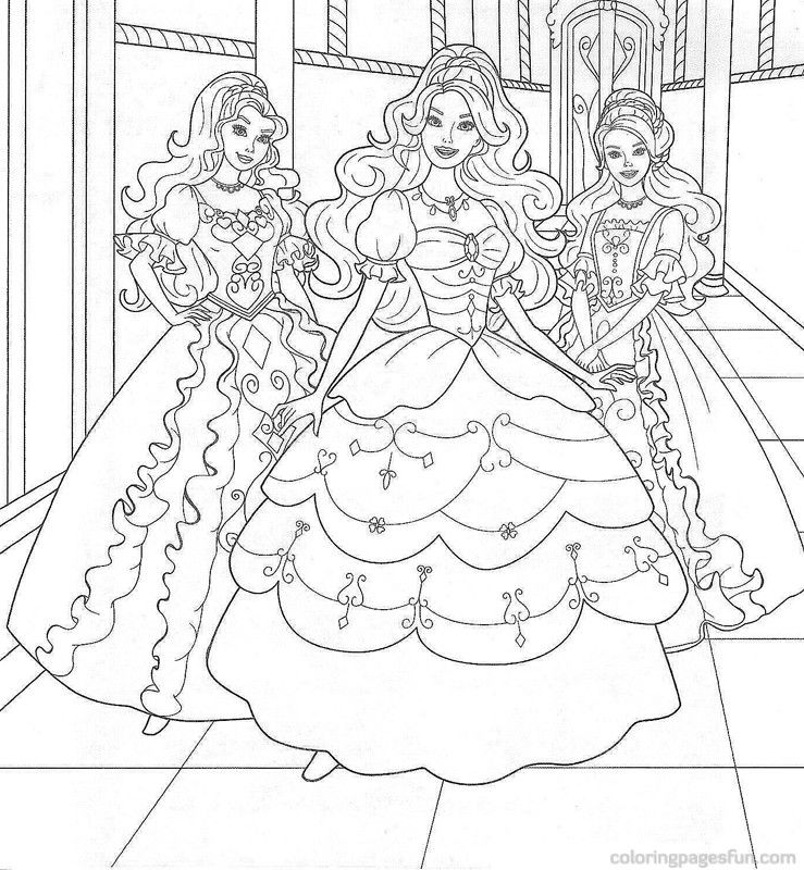 Barbie Coloring Page Coloring