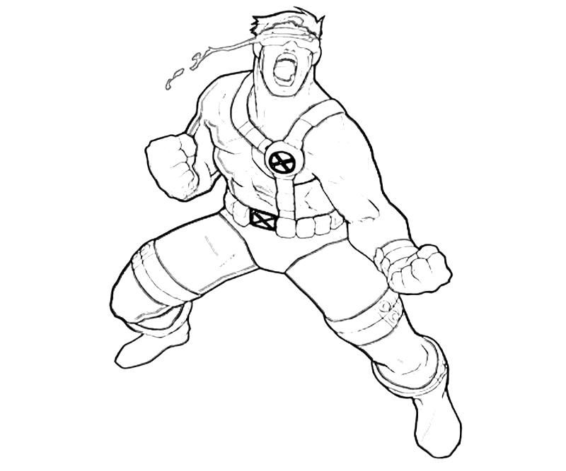 Cyclops Coloring Pages Coloring Home Cyclops Coloring Pages