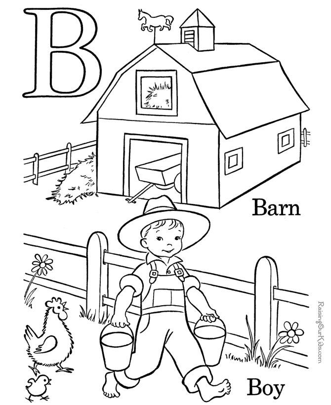 Pre kindergarten coloring pages coloring home Coloring book for kinder
