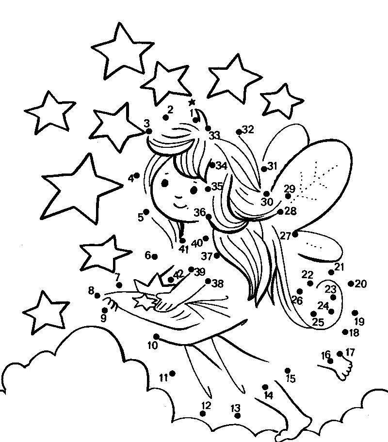 Preschool Dot To Dot Coloring Pages
