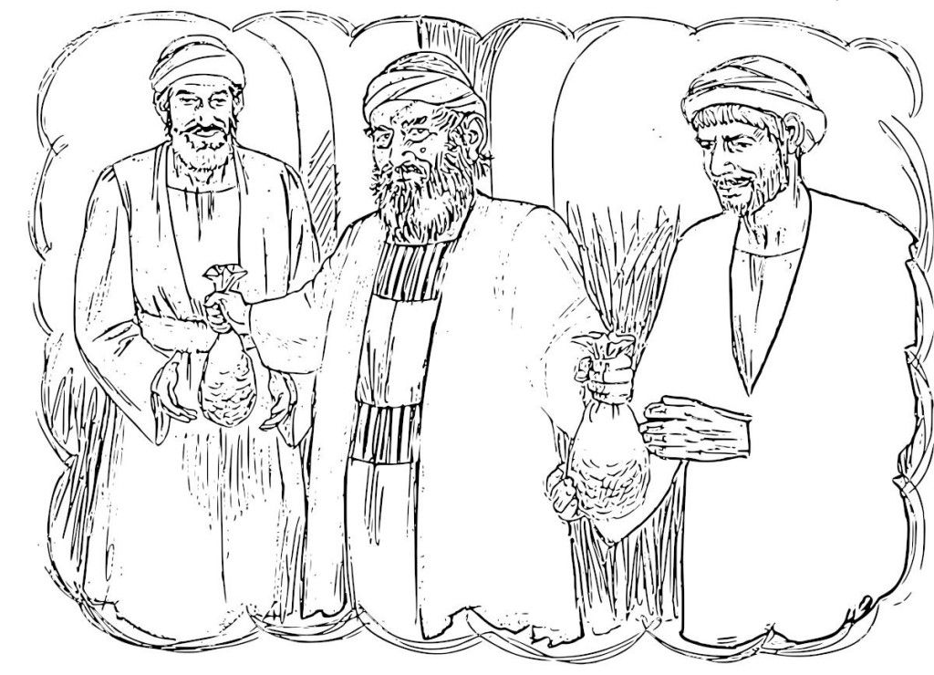 prodigal son coloring pages - photo#22