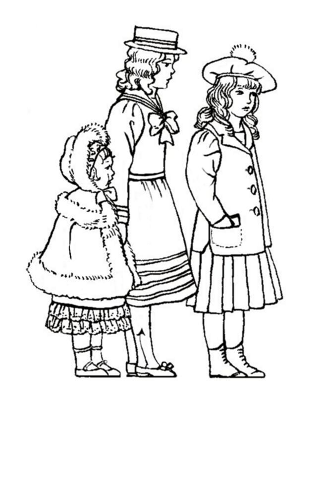 Victorian Coloring Pages
