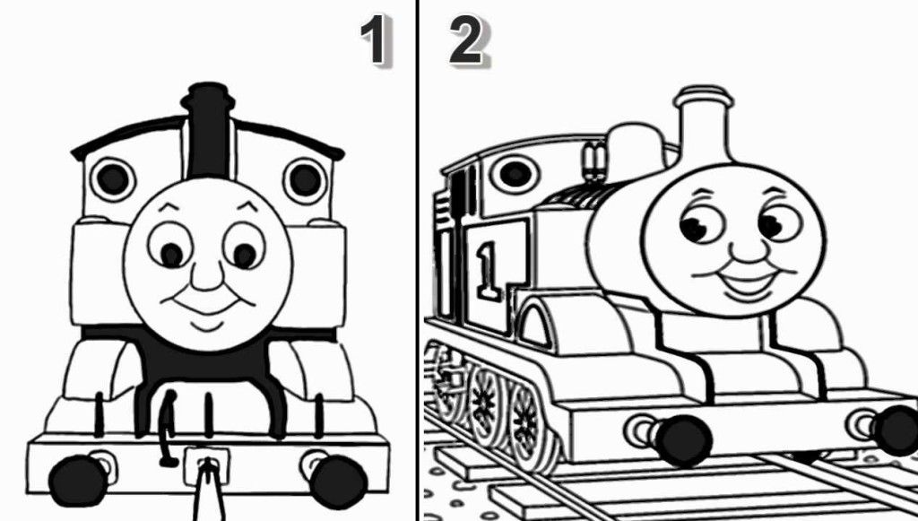 Cool Thomas And Friends Very Interesting Thomas Coloring For Kids