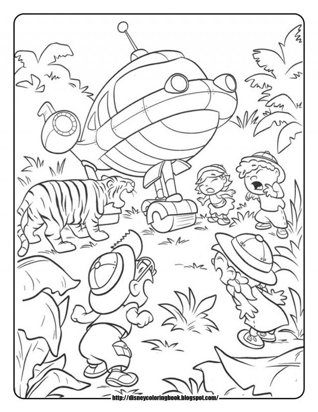 Little Einsteins Printable Coloring Pages
