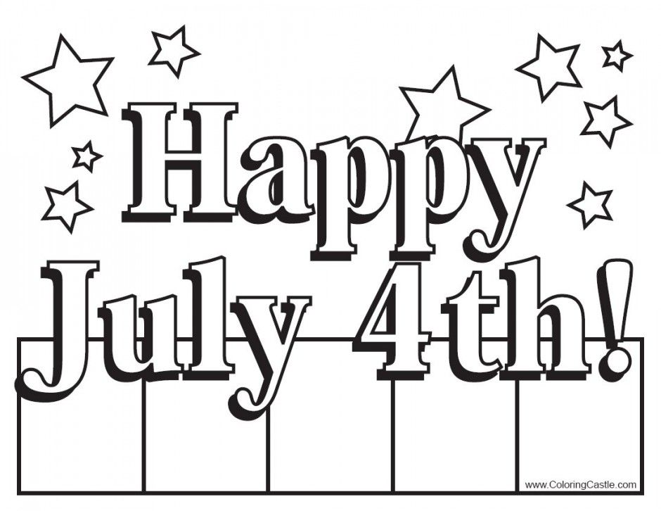Fourth Of July Coloring Pages Kids Coloring Pages Printable 142363 -  Coloring Home