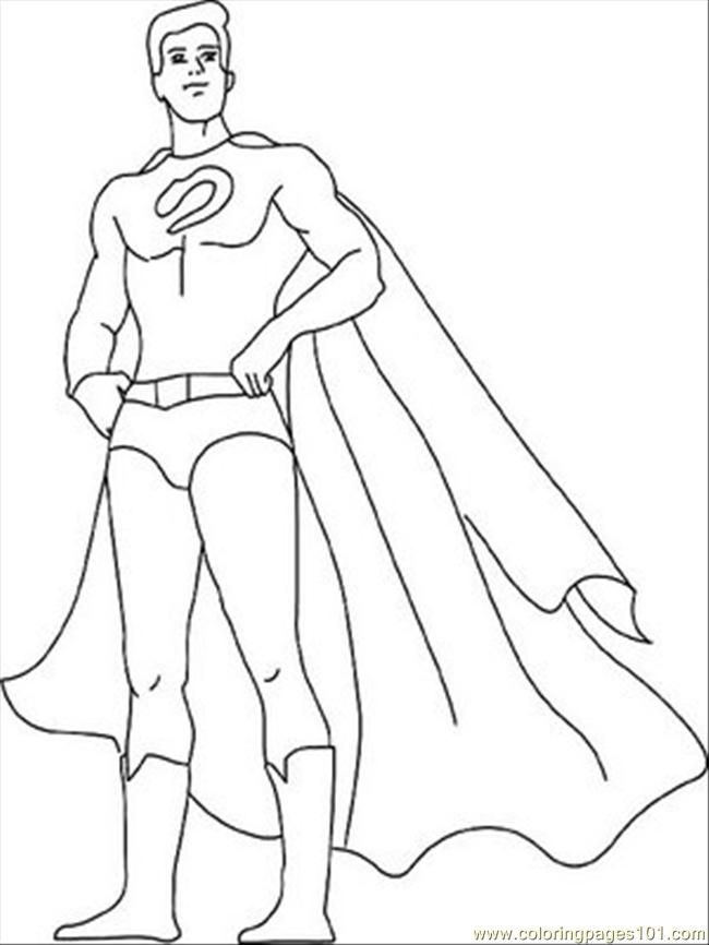 Free Superhero Coloring Pages For Kids Coloring Home