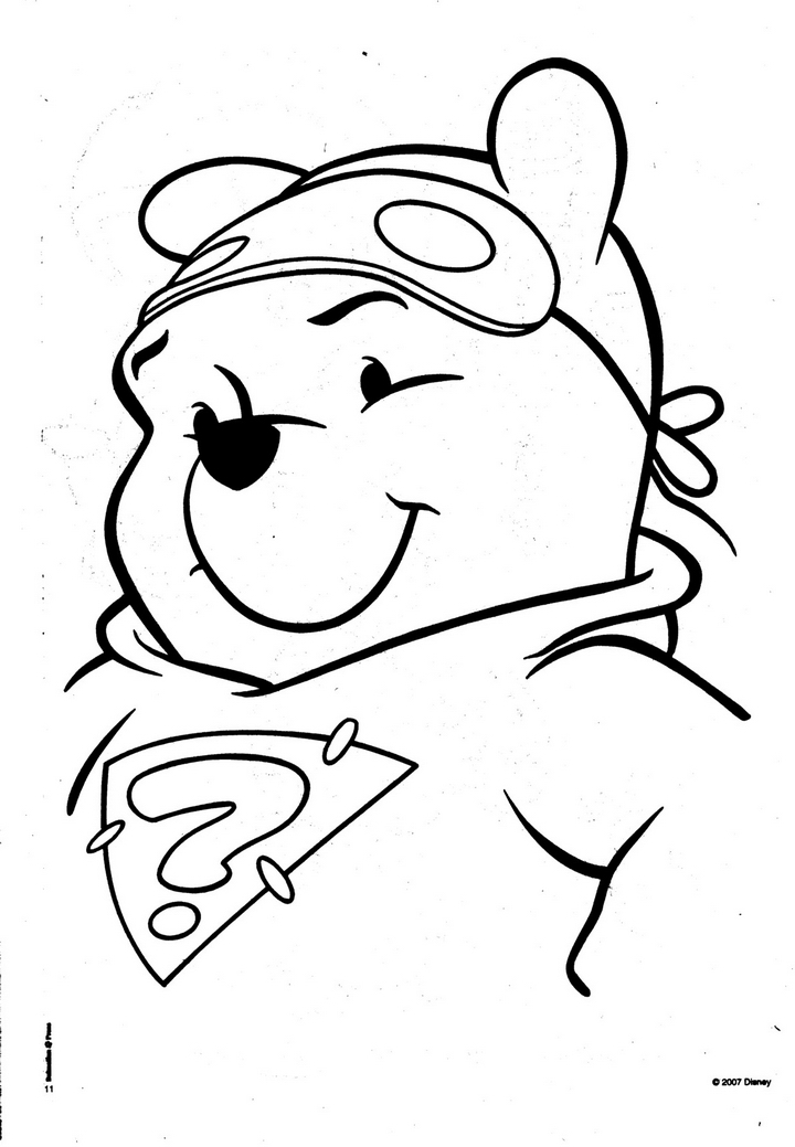 Tigger and pooh coloring pages az coloring pages for Pooh bear and tigger coloring pages