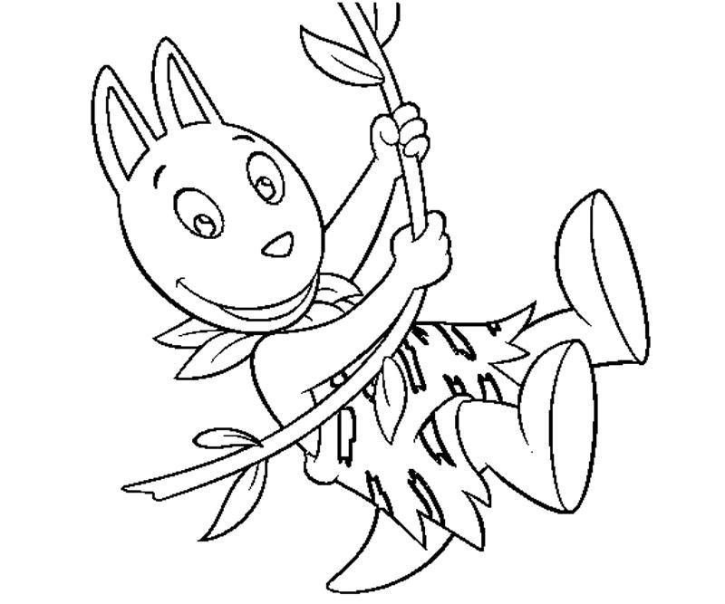 Pablo Backyardigans Coloring Pages - Coloring Home