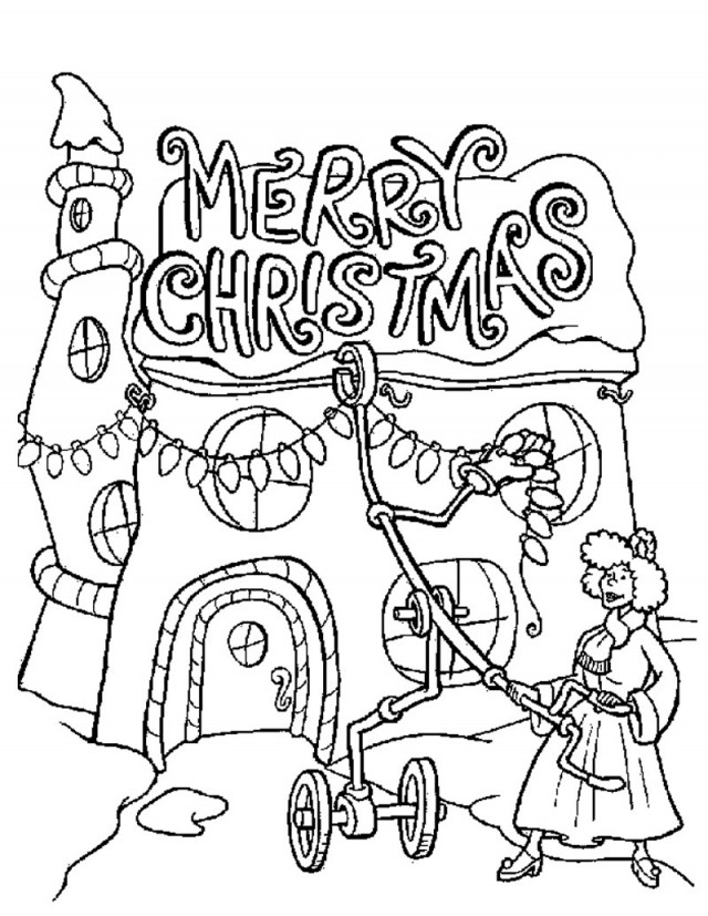 The Grinch Coloring Pages Az Coloring Pages How The Grinch Stole Printable Coloring Pages